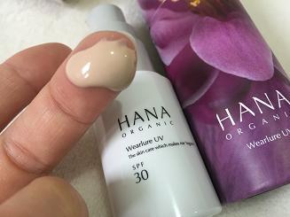 hanaオーガニックのウェアルーUV(UVクリーム )