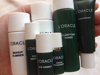 オラクル(L'ORACLE)化粧品 再お試し!!荒れたお肌がしっとり!!