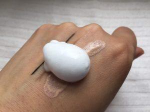 肌ナチュールの泡